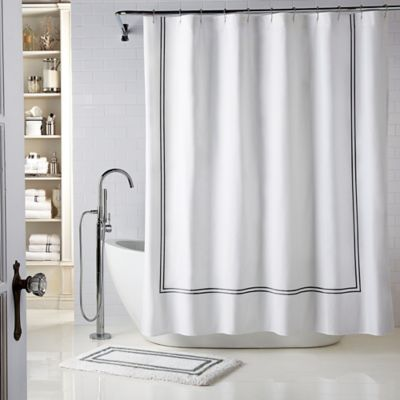 Wamsutta Baratta Stitch Shower Curtain