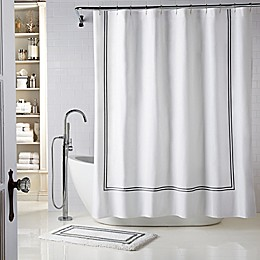 Wamsutta® Baratta Stitch Shower Curtain