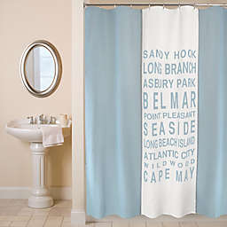 Park B. Smith® Jersey Shore Shower Curtain