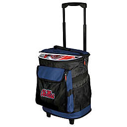 University of Mississipp Rolling Cooler