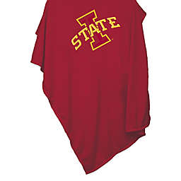 Iowa State University 54-Inch x 84-Inch Sweatshirt Throw Blanket