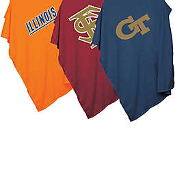 Collegiate 54-Inch x 84-Inch Sweatshirt Throw Blanket Collection