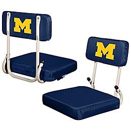 University of Michigan Hard Back Stadium Seat