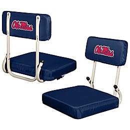 University of Mississippi Hard Back Stadium Seat