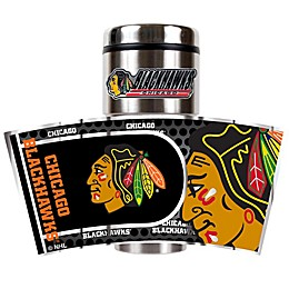 NHL Chicago Blackhawks 16 oz. Metallic Wrap Tumbler