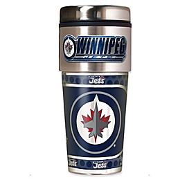 NHL Winnipeg Jets 16 oz. Metallic Wrap Tumbler