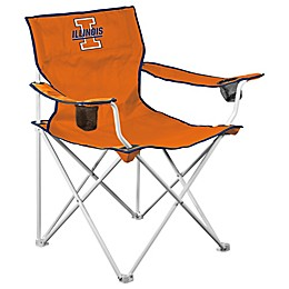 Illinois University Elite Folding Chair