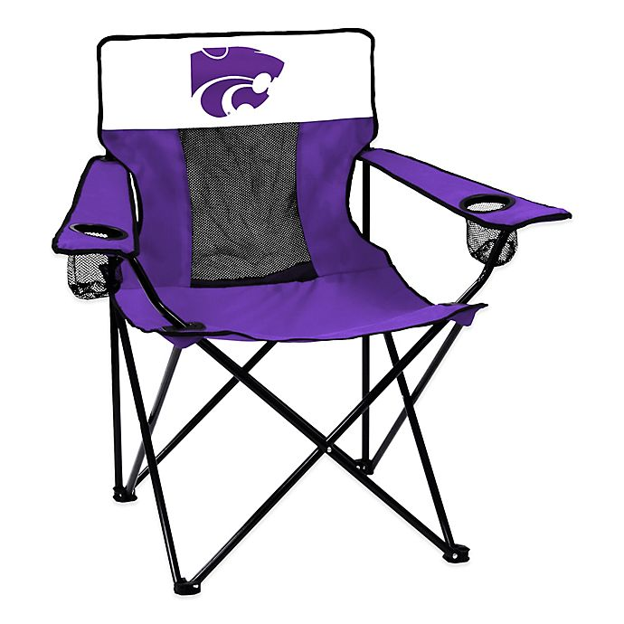 Alternate image 1 for Kansas State University Elite Folding Chair