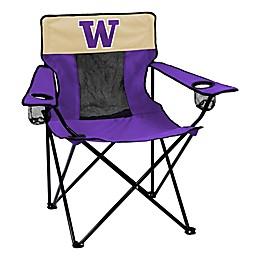 University of Washington Collegiate Elite Folding Chair
