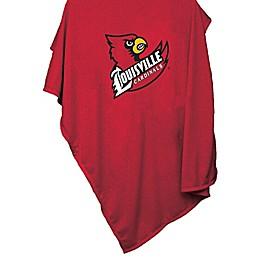 University of Louisville 54-Inch x 84-Inch Sweatshirt Throw Blanket
