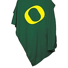 University of Oregon 54-Inch x 84-Inch Sweatshirt Throw Blanket