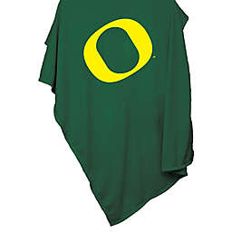 University of Oregon 54-Inch x 84-Inch Sweatshirt Throw Blanket