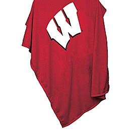University of Wisconsin 54-Inch x 84-Inch Sweatshirt Throw Blanket