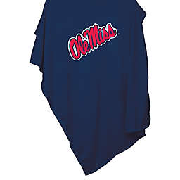 University of Mississippi 54-Inch x 84-Inch Sweatshirt Throw Blanket