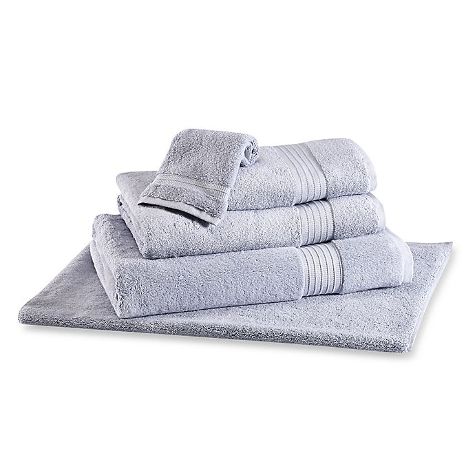 Alternate image 1 for Frette At Home Milano Bath Towel in Dusty Blue