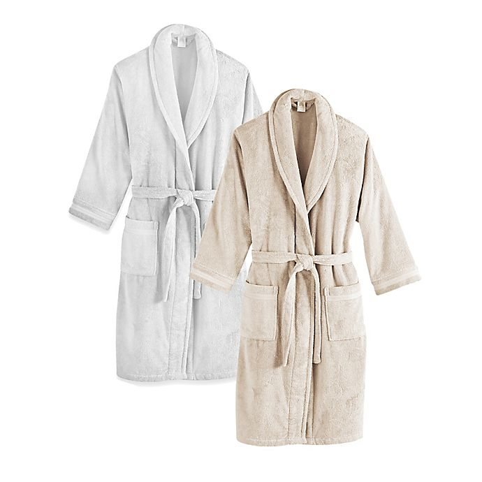Alternate image 1 for Frette at Home Unisex Milano Terry Bathrobe