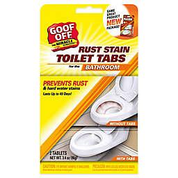 Goof Off Rust Stain Toilet Tabs