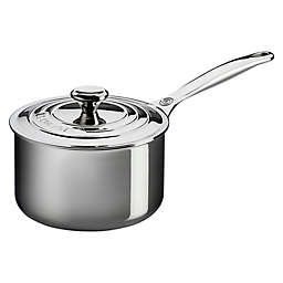 Le Creuset® Tri-Ply Stainless Steel Covered Saucepans