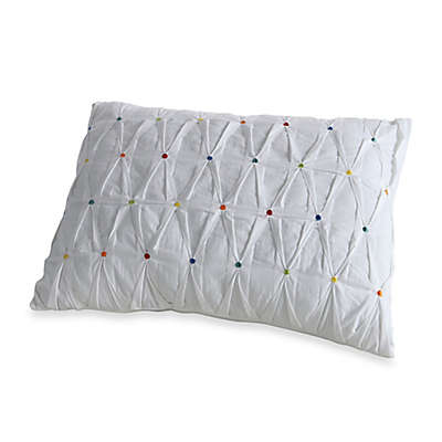 Fiesta® Ava Embroidered Dot Oblong Throw Pillow