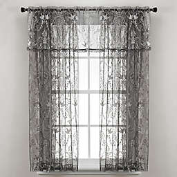 Downton Abbey® Duchess Collection Lace Window Curtain Panel and Valance
