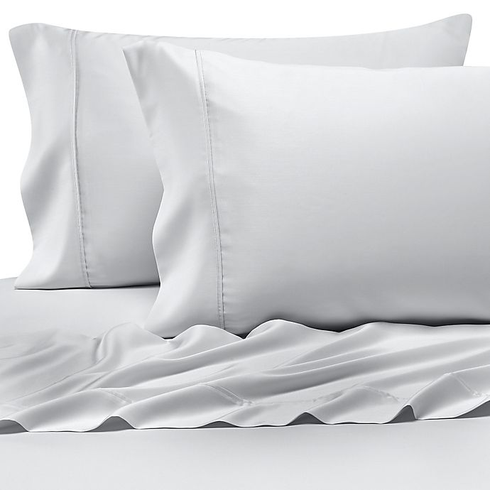 Alternate image 1 for Pure Beech® 100% Modal Sateen Queen Sheet Set in White