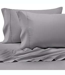 Set de sábanas queen Pure Beech® 100% tela modal satinada en plata