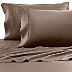 Eucalyptus Origins™ Tencel® Lyocell Standard Pillowcases in Canvas Stripe (Set of 2)