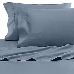 Eucalyptus Origins™ Tencel® Lyocell King Pillowcases in Blue Stripe (Set of 2)