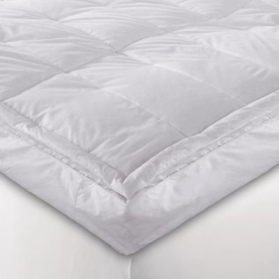 5 Quot White Down Blend Pillowtop Featherbed Bed Bath Amp Beyond