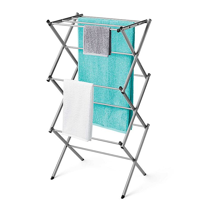 Alternate image 1 for Polder® Compact Accordion Dryer Rack
