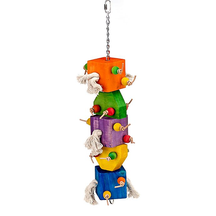 Alternate image 1 for Loaded Dice Bird Toy