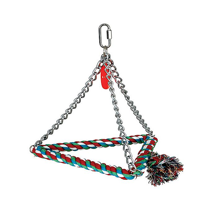 Alternate image 1 for 8-Inch Bird Triangle Rope Swing