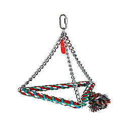 8-Inch Bird Triangle Rope Swing