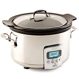 All-Clad Black Ceramic 4-Quart Slow Cooker