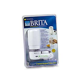 Brita® White Faucet Filtration System