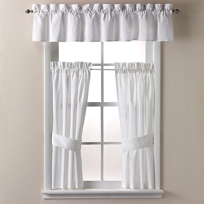 Alternate image 1 for Wamsutta® Regency 14-Inch Bath Window Curtain Valance