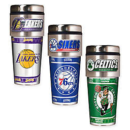 NBA 16 oz. Metallic Travel Tumbler