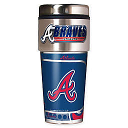 MLB Atlanta Braves 16 oz. Metallic Tumbler