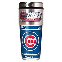 MLB Chicago Cubs 16 oz. Metallic Tumbler