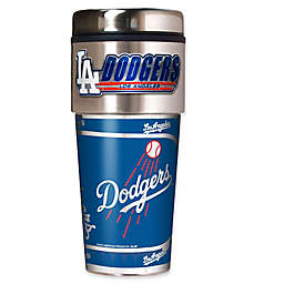 MLB Los Angeles Dodgers 16 oz. Metallic Tumbler