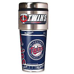 MLB Minnesota Twins 16 oz. Metallic Tumbler
