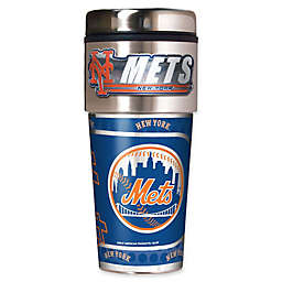 MLB New York Mets 16 oz. Metallic Tumbler