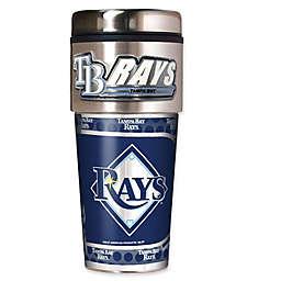 MLB Tampa Bay Rays 16 oz. Metallic Tumbler