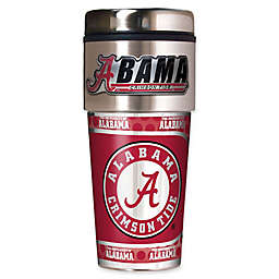 University of Alabama 16 oz. Metallic Tumbler