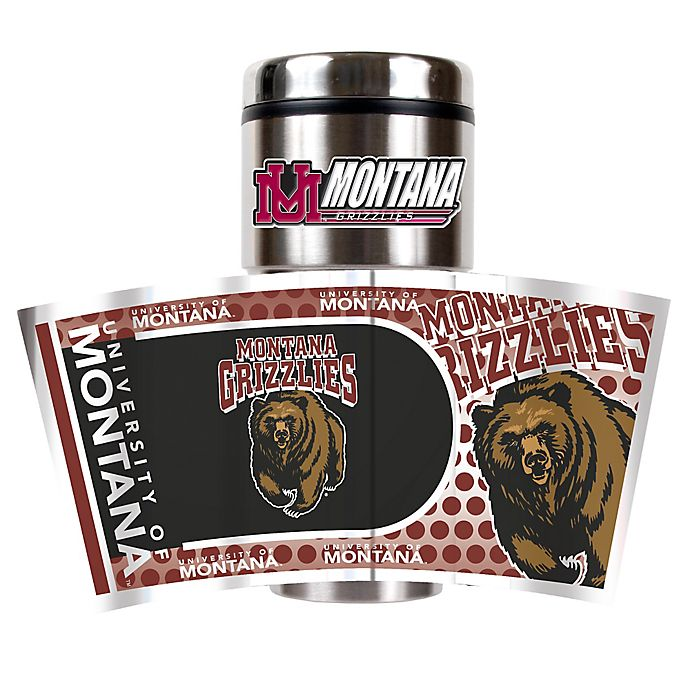 Alternate image 1 for University of Montana 16 oz. Metallic Tumbler