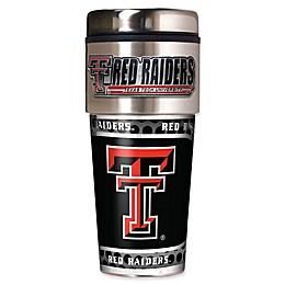 Texas Tech University 16 oz. Metallic Tumbler
