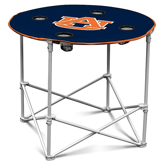 Alternate image 1 for Auburn University Round Collapsible Table
