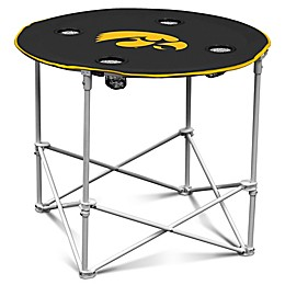 University of Iowa Round Collapsible Table