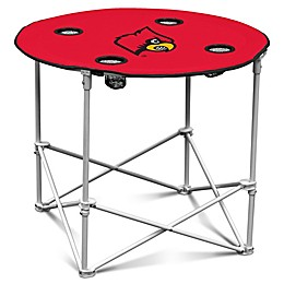University of Louisville Round Collapsible Table