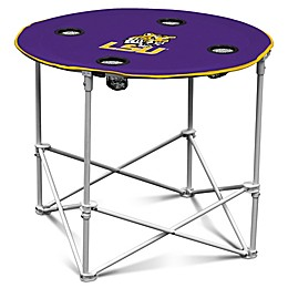 Louisiana State University Round Collapsible Table